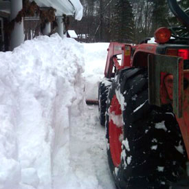 Snow removal example